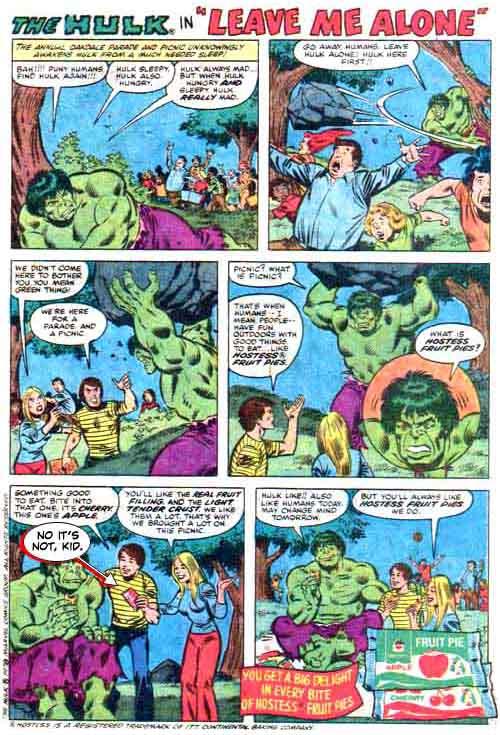 Leave You Alone Hulk