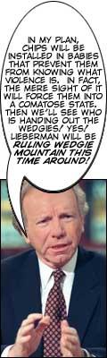 Funny picture of Joe Lieberman